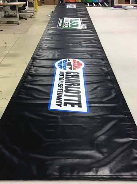 Charlotte Motor Speedway Vinyl Banner