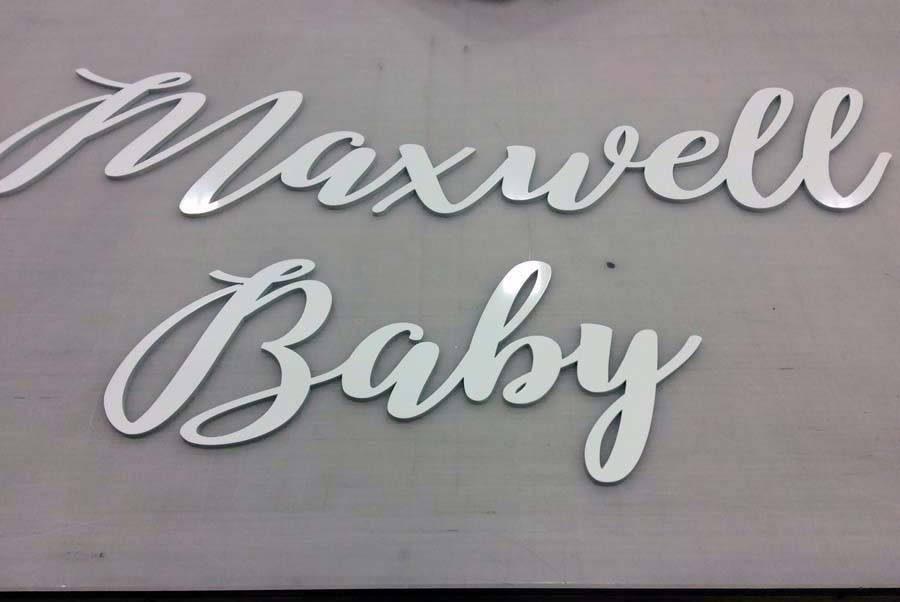 CNC Cut Signs Charlotte