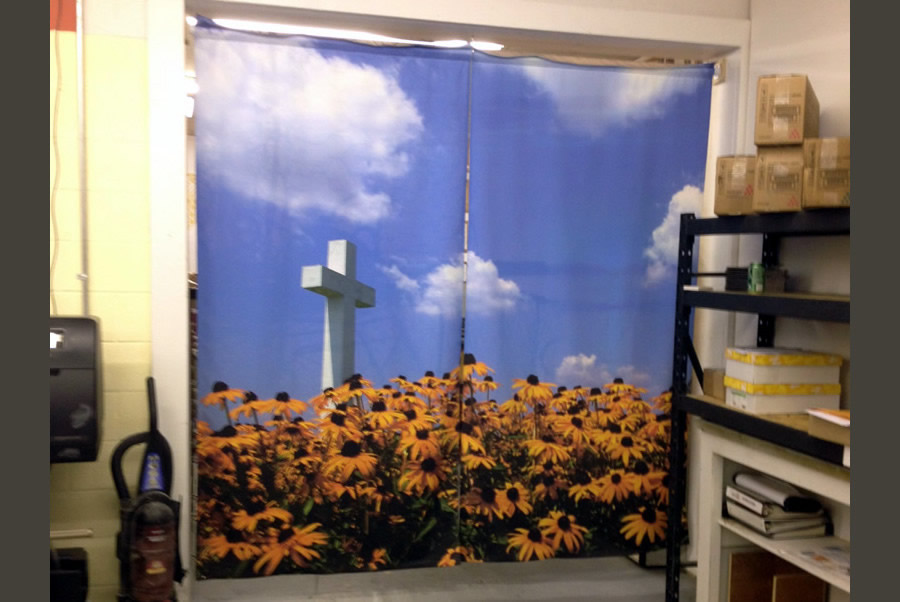 Custom Printed Curtains