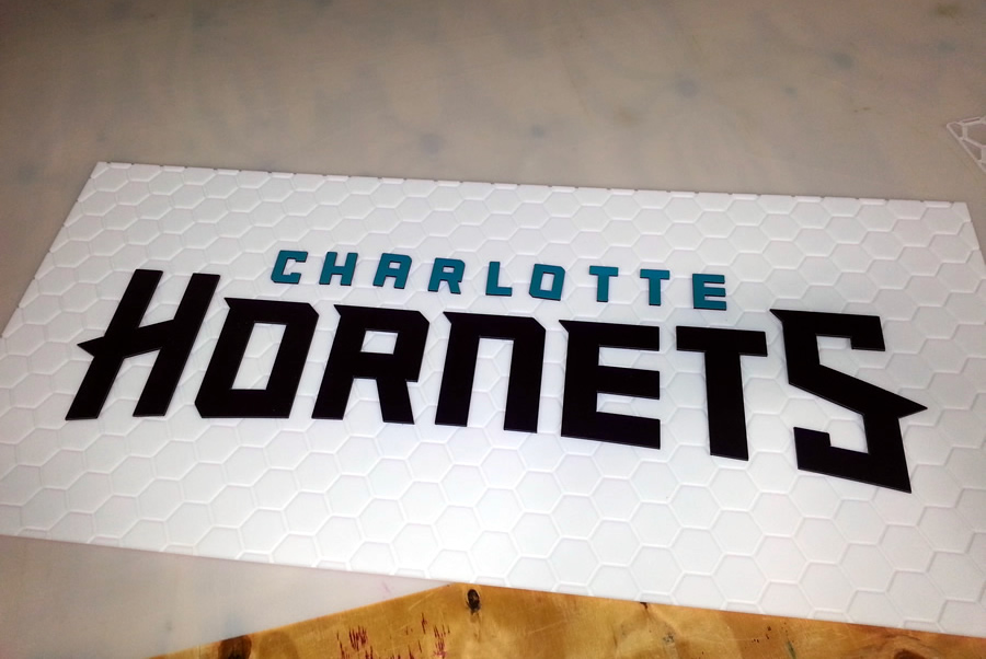 Dimensional Lettering Charlotte