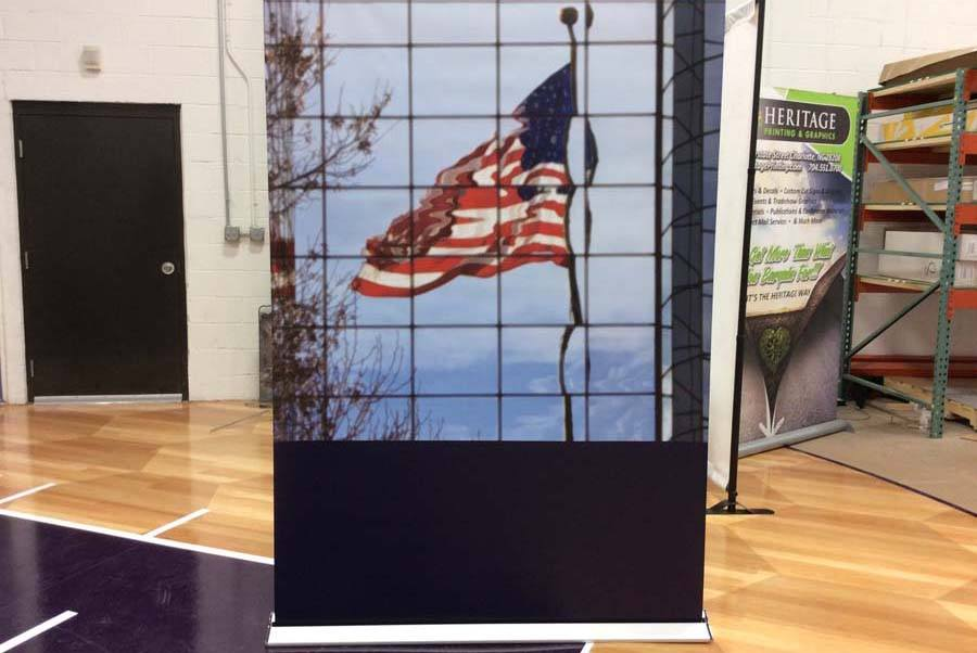 Retractable Banner Charlotte