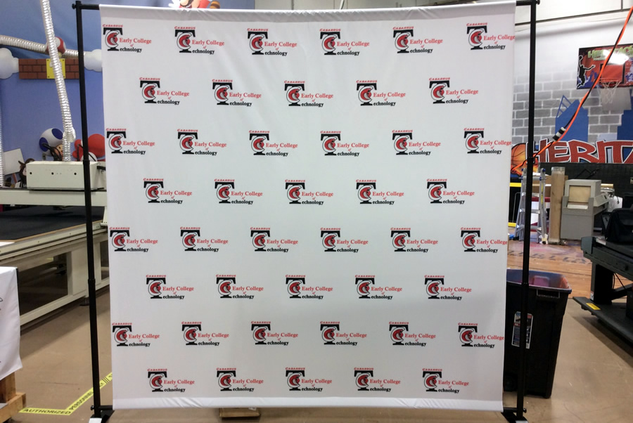 Step and Repeat Banner Stands Charlotte