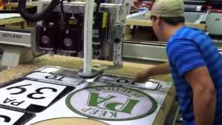 Custom Cut Metal Signs